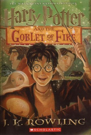 Harry Potter & The Goblet Of Fire by J K Rowling