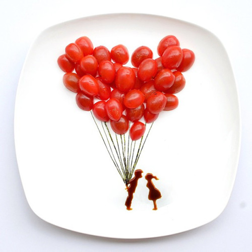 31 Days of Food Art by Hong Yi
