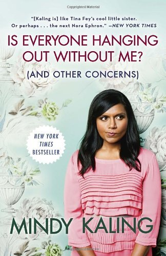 "Is Everyone Hanging Out Without Me? (And Other Concerns)</p><br /><br /> <p>By Mindy Kaling</p><br /><br /> <p>Seriously, I'm going to start by saying that I just learned who Mindy Kaling was about a month ago. I was reading some random article about how there was this show that was hitting a no no topic on Fox. Of course the perv in me perked up and looked up the show: The Mindy Project. I'd seen the listing on my Hulu account but with a lengthy list of regular shows I usually only start new one's in the off seasons. However, now I was interested. What is this show that was causing such a buzz? I have never laughed so much at TV as when I watch The Mindy Project. I'm talking out loud guttural laughing. I tend to be the chuckle on the inside type of person, but not when I'm watching this show. That being said, when I came across the book Is Everyone Hanging Out Without Me? (And Other Concerns)  by Mindy Kaling I picked it up right away.</p><br /><br /> <p>On a whole, I enjoy autobiographies. I enjoy people and I enjoy hearing about the parts of their lives that brought them to the place they are today. Some people are better at telling their stories then others. Mindy is in the former group. I found myself laughing and nodding my head along with her as she talks about the various parts of her life.</p><br /><br /> <p>The first ""chapter"" (although it is really broken down into several essays, don't roll your eyes, trust me it's worth the read.) Mindy paints a story of a little chubster girl who learned the hard way ""bullies have no code of conduct."" More then her humiliating diving board incident or the secret friend she had in high school, what I love about this book is that Mindy isn't afraid to be honest. Her chapter titled Failing at Everything in the Greatest City on Earth pretty much sums this point up. Life is hard, and no one who has made it in his or her careers got there blindly. They worked their asses off and sometimes took a few detours before making it.<br /><br /><br /> Do you remember hearing about the one hour comedy sketch Matt and Ben? I do, but I of course never saw it. Guess what, that was Mindy! I know I was just as shocked to find out myself. Mindy delights the reader with her tales of one hour writing sessions that eventually turned into Matt and Ben, later her flop move to LA and her eventual small writing gig on a mid season filler show called The Office. I'm going to say up front, I've never watched The Office. But after reading her book littered with witty observations on life, film, and shopping, I'm almost willing to give it a shot.</p><br /><br /> <p> Mindy isn't afraid to go there and by there I mean there. Yes any there that could apply. She seemingly touches all topics and does so in voice that had me laughing out loud (need I say it again).</p><br /><br /> <p> Jennifer Weiner wrote this about the book and I couldn't' have said it better myself, so thank you for letting me steal it: ""By the end of this book, you will want Mindy Kaling to be your best friend, and you will want her parents to adopt you. Since neither of these events is likely, or even possible, buy her book instead."" – Truth…."