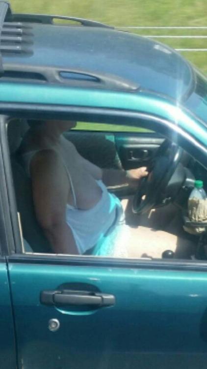Nude women truck drivers