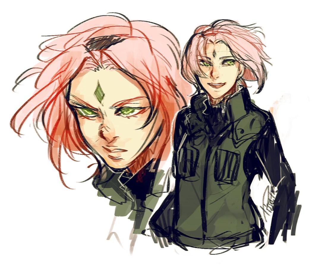 Sakura adalah Karakter dalam Manga Naruto
