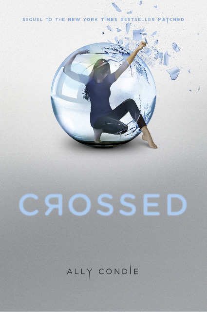 "CROSSED By Ally CondieReviewed by Miranda BoyerCrossed picks up<br /><br /><br /> where Matched ends. If you've not<br /><br /><br /> read the first book, follow my link to the first review. There will be some<br /><br /><br /> spoilers. You've all been warned. If you remember, Ky was sent away to the Outer Provinces at<br /><br /><br /> the end of the last book. Cassia is currently stationed at an all girls work<br /><br /><br /> camp in an attempt to get to as close to the Outer Provinces as she can, so she<br /><br /><br /> can escape and find Ky. Ky on the other hand is stuck in the Outer Provinces<br /><br /><br /> trying to escape and find his way back to the society to be with Cassia. We<br /><br /><br /> learn about the rebellion to the Society called the Rising.  And although Cassia is certain that the Rising<br /><br /><br /> will be their savior, I'm with Ky in my distrust. In this book the point of view switched back and forth from<br /><br /><br /> Ky to Cassia unlike Matched where Cassia narrated the whole book. At first I<br /><br /><br /> thought this worked well, I could, without much effort, tell who was who and<br /><br /><br /> for the first time get inside of Ky's head. But as the book progressed and when<br /><br /><br /> our two leads met up, it became harder and harder to distinguish whose view I was<br /><br /><br /> reading. Even making me flip back to the chapter start to double check.There are some new characters in this book as well. Indie is the first and<br /><br /><br /> although I don't trust her, like at all, I do appreciate her pluckiness. Eli,<br /><br /><br /> who reminds both Ky and Cassia of her younger brother Bram, is sweet and holds<br /><br /><br /> some innocence for the group of traveling teens. But let's talk for a moment about the book… Oh Condie… What<br /><br /><br /> have you done?!  In Matched the writing felt like poetry not prose. In Crossed despite the fact that the book<br /><br /><br /> was filled with ""poetry"" it all felt like prose. This book moved much slower,<br /><br /><br /> less action, and ultimately felt like our characters spent the book gathering<br /><br /><br /> their thoughts. I felt that the end of the book was rushed. We spent an<br /><br /><br /> entire book escaping the society only to have Cassia returned to Central<br /><br /><br /> without being told a lick of how. I hope that there are flashbacks in book<br /><br /><br /> three to shed light on this experience. We still know next to nothing about who<br /><br /><br /> is behind the Society, the Farmers, and the Rising. Are the Rising even good<br /><br /><br /> people? I feel that by book two there should have been more information and<br /><br /><br /> instead it leaves me with more questions. Like who is doing the firing at the<br /><br /><br /> camps on the decoys? Is it the Rising or maybe the Society? Or is it some other<br /><br /><br /> unknown enemy? What about all the poisoned water? I really want to like this book as much as I enjoyed Matched but it just didn't happen. There<br /><br /><br /> was a much tighter plot and far more romantic suspense in the first book. The<br /><br /><br /> society even had a face in the first book while all this was lacking in the<br /><br /><br /> second. Crossed was simply put,<br /><br /><br /> slower. There were obstacles that each character had to face and overcome but there<br /><br /><br /> was never that gripping moment of heightened anxiety that hooks you into the<br /><br /><br /> story and never lets go.I believe that Condie is a talented writer who has the ability to write poetry.<br /><br /><br /> Unfortunately for me, Crossed wasn't<br /><br /><br /> it. I will eventually read the last book in this series, which is called Reached.<br /><br /><br /> I do hope that that spark returns to the last book, because when Condie<br /><br /><br /> gets it, she gets it."