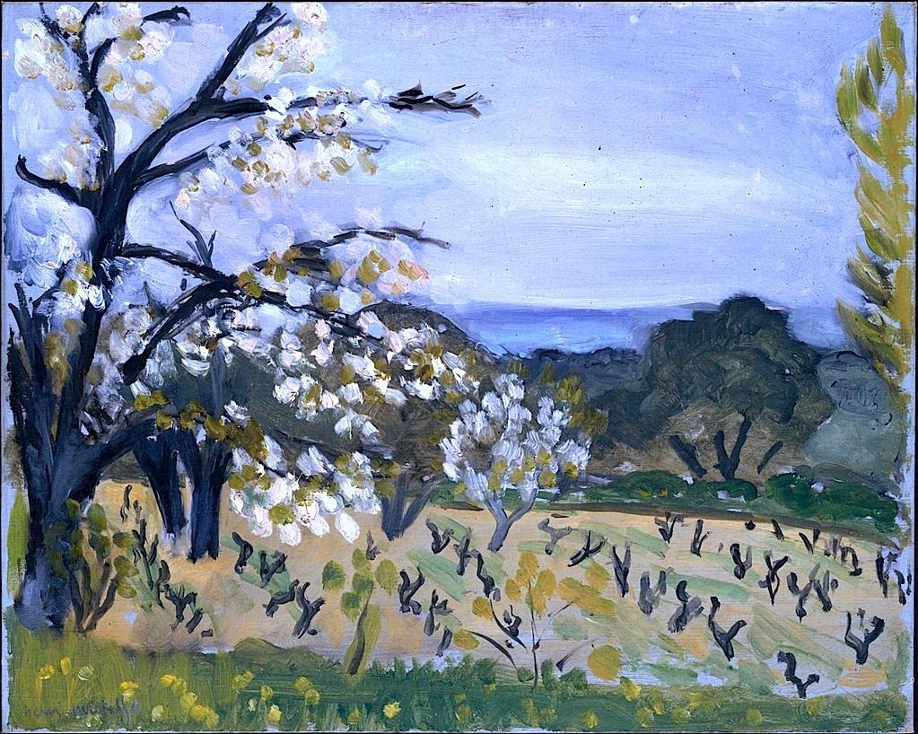 bofransson: Landscape, Nice Henri Matisse (French, Le Cateau-Cambrésis 1869–1954 Nice)