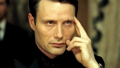 Mads Mikkelsen starred as villain Le Chiffre in Casino Royale