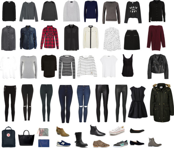 Capsule wardrobe Invierno 2015