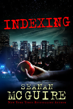 Indexing by Seanan McGuireReviewed by Miranda BoyerIndexing was first<br /><br /><br /> released as pat of the Kindle Serial collection and distributed in bi-weekly<br /><br /><br /> installments to subscribers. Prior to reading this book, I hadn't even heard of<br /><br /><br /> such a thing outside of the 19th century, but I'm most definitely<br /><br /><br /> intrigued by it. So of course I went to the trusty Googles to find out all<br /><br /><br /> about how the Kindle Serial program works. Did you know that parts are<br /><br /><br /> published as the author writes the book. So for example the beginning of the<br /><br /><br /> book is passed out to readers far before the author ever writes the last<br /><br /><br /> chapter. I think that this is a really important fact to know when reading this<br /><br /><br /> book, even in paperback format like I did. In the back of your mind, you should<br /><br /><br /> remember that the author couldn't change something that has been done earlier.<br /><br /><br /> Sometimes books go ways we didn't anticipate, speaking as an author myself.<br /><br /><br /> Personally, I'm super impressed by this and I feel wholeheartedly that McGuire<br /><br /><br /> did it well. Indexing is like a<br /><br /><br /> cop show, only the bad guys are fairytale characters, and the good guys are<br /><br /><br /> fairytale characters and every story is as dark as they come. Instead of a<br /><br /><br /> sleeping beauty pricking her finger and going to sleep and taking the whole kingdom<br /><br /><br /> with her for one-hundred years until prince charming comes along – the sleeping<br /><br /><br /> beauty pricks her finger and quickly passes around a mutated version of H1N1<br /><br /><br /> that puts an entire hospital to sleep and unlike in fairytales, we can't sleep<br /><br /><br /> for one-hundred years without dying. The field team for the ATI management<br /><br /><br /> burro, a highly classified government agency that covers up fairytales in our<br /><br /><br /> very real world, is made up of a Snow White, an Evil Step Sister, a Pied Piper,<br /><br /><br /> and a shoemaker. Making this one of the most unique cop drama's I've ever read.<br /><br /><br /> Some of the stories have more common reoccurrences then<br /><br /><br /> others, but I saw this as a direct correlation between popularity in our<br /><br /><br /> culture, since story told has the possibility of being taken over by the<br /><br /><br /> narrative that attempts to control everyone often changing with the culture as<br /><br /><br /> it grows. Be careful not to mistake Indexing, as I did, for a fairytale, it isn't. Not really. What it is<br /><br /><br /> is a story about maliciously evil narratives. McGuire (who also uses the name<br /><br /><br /> Mira Grant) uses the concept of archetypes and builds upon them with her vast<br /><br /><br /> knowledge of fairytales, using the combination of her impeccable imagination to<br /><br /><br /> turn well-known stories into something brand new. There is a clear amount of<br /><br /><br /> knowledge not to mention humor creating one of the most clever and imaginative books<br /><br /><br /> that pushes the boundaries of its genre. I enjoyed Indexing a great deal more then I anticipated. Have you read it?<br /><br /><br /> What were your thoughts?