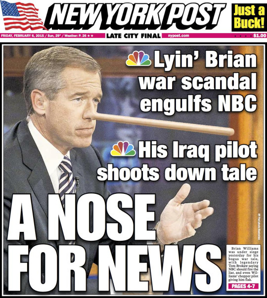 DOWNFALL OF THE YEARNo, not Ben Carson. Not Pennsylvania Supreme Court justices.. this prize belongs to Brian Williams, who was accused of 'tall tales' and skewered by the media officials who once loved him. He either lied or just simply enjoyed making stories up and believing them.. by the time the scandal was in full swing, he lost his prized anchor position on the NIGHTLY NEWS on NBC.He's back on MSNBC now.And perhaps that's the finest eternal punishment someone can get after a downfall..