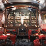 Design Cafe Architecture Interior Design Restaurant Digital Art Steampunk Bar Steam Punk Concept Design Steampunk Tendencies Jules Verne Steampunktendencies