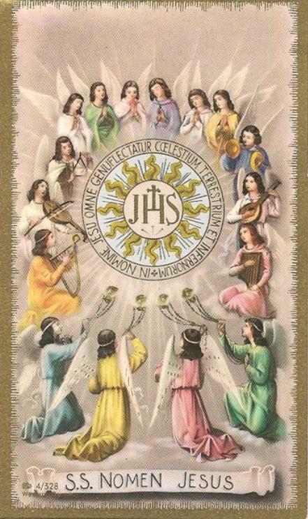 theraccolta:  Jesu, gaudium angelorum, miserere nobis!