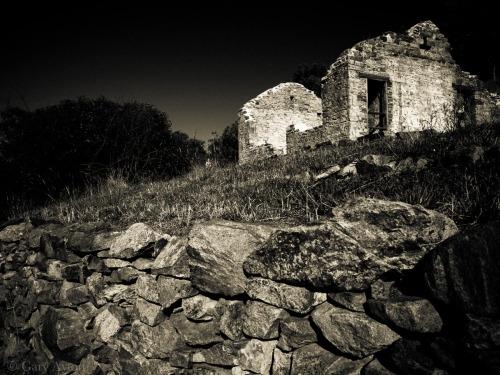 ruins of homestead