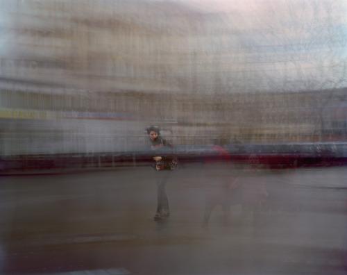 Wedding 17, aus der Serie begehbare Zeit 95 x 120cm, C-Print hinter Plexiglas, 2009