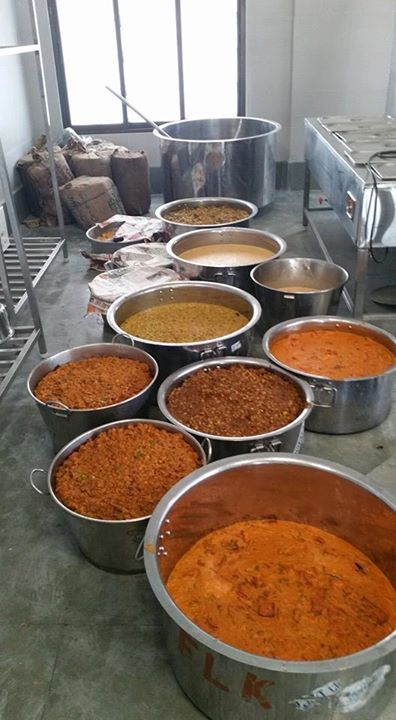 Inauguration of ISKCON Food Foor Life in Mayapur  Free food to
