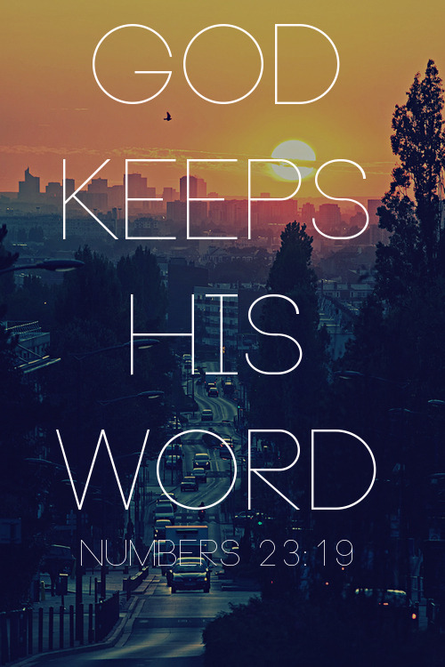 Numbers 23:19