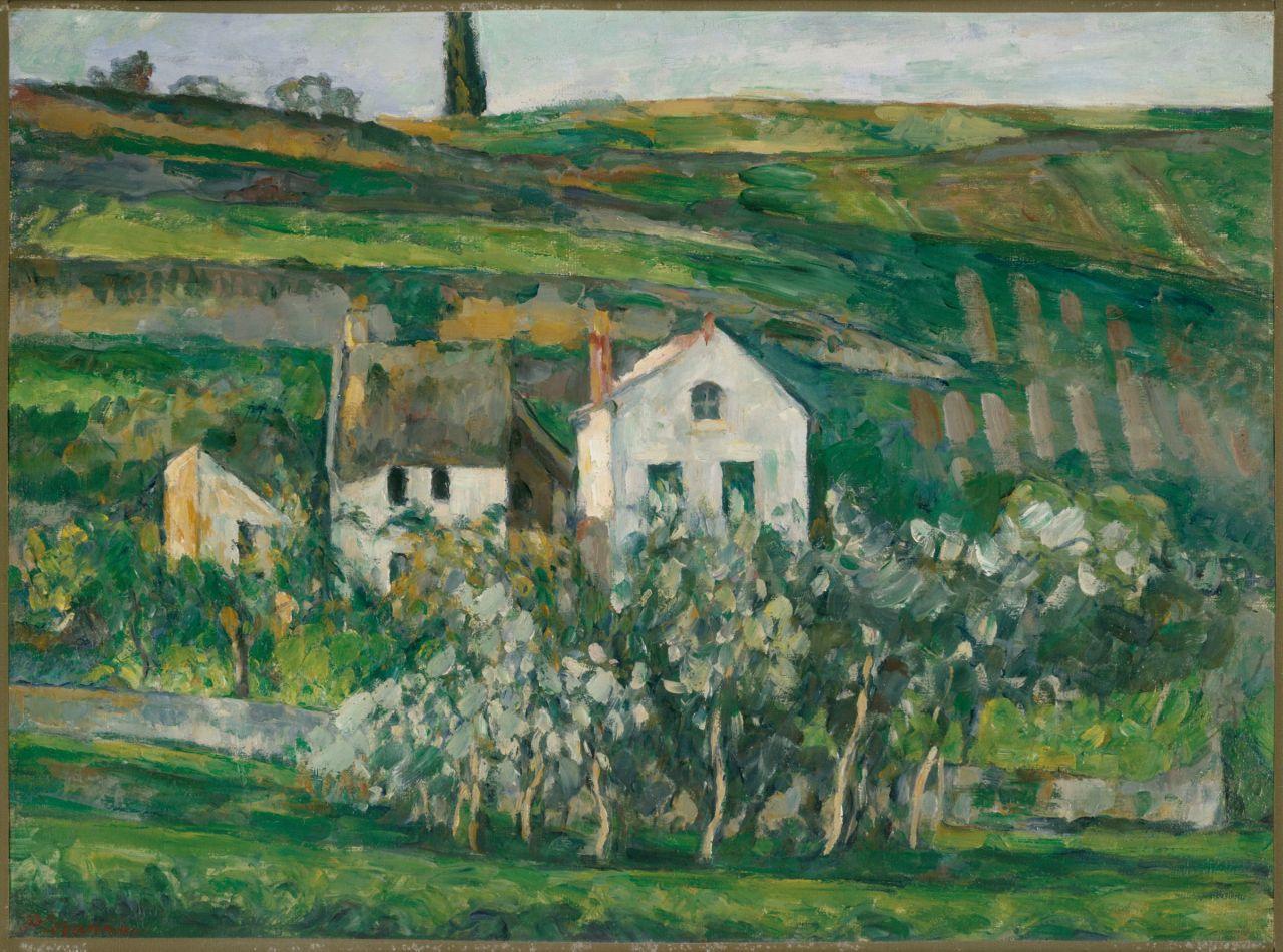 urgetocreate:  Paul Cézanne, Small Houses in Pontoise, ca.1873-74