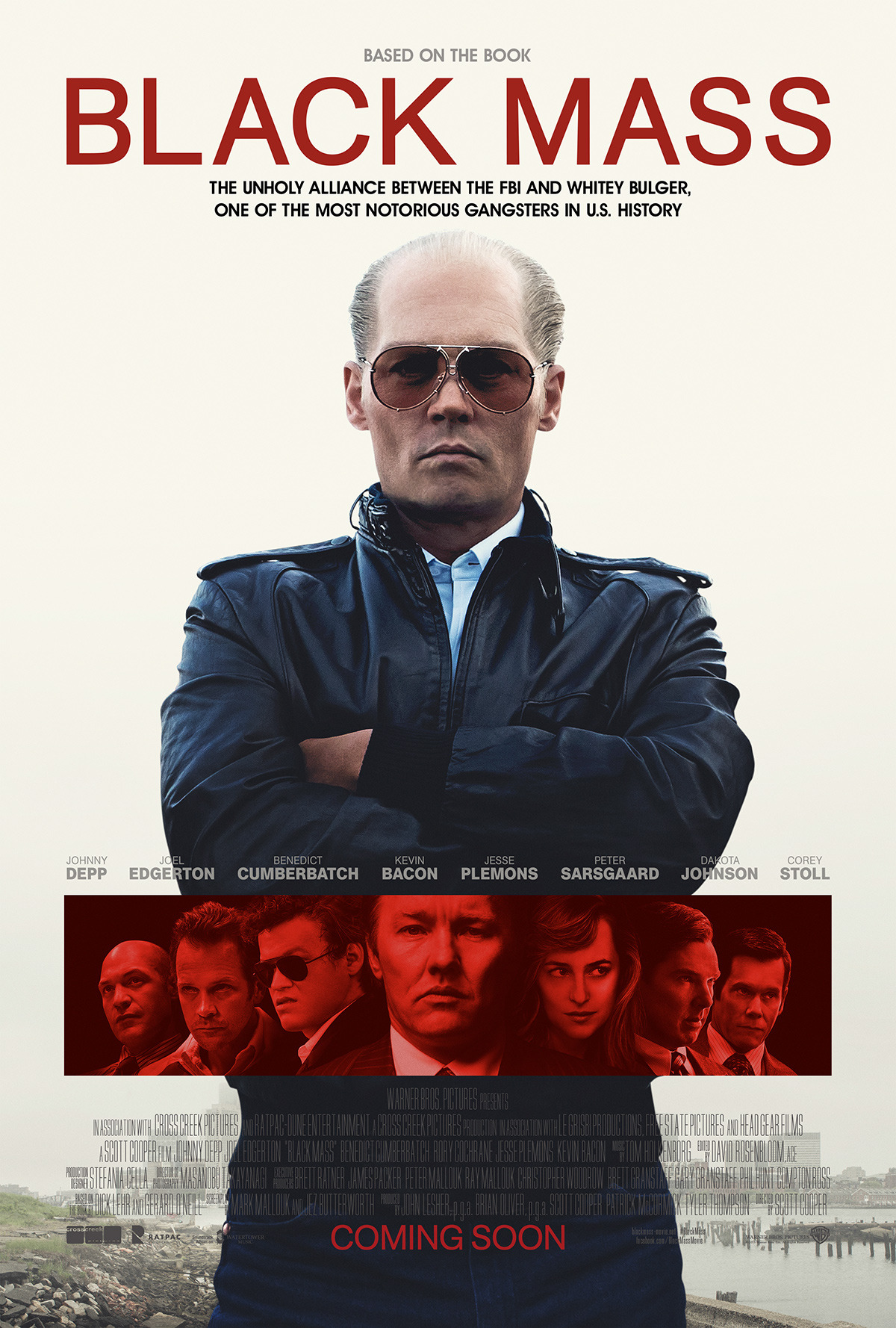 96cineplexmovies:  New poster for TIFF15 selection Black Mass  1280x1896  new trailer for #BlackMass premiering tomorrow at 9am PT / 12pm ET