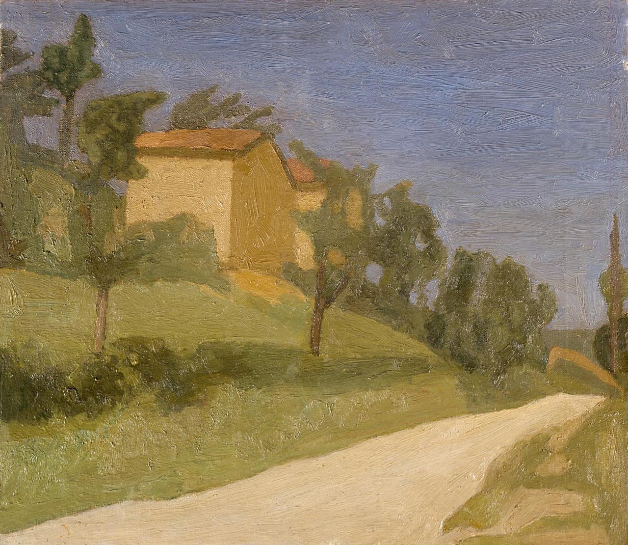 Giorgio Morandi - The White Road - 1939