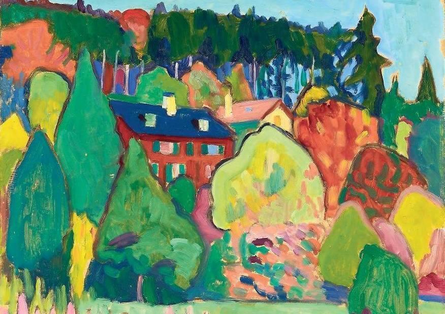 GABRIELE MÜNTERBild am Amstamberger see, 1908