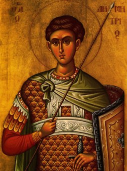 Image result for St. Demetrios of Thessaloniki