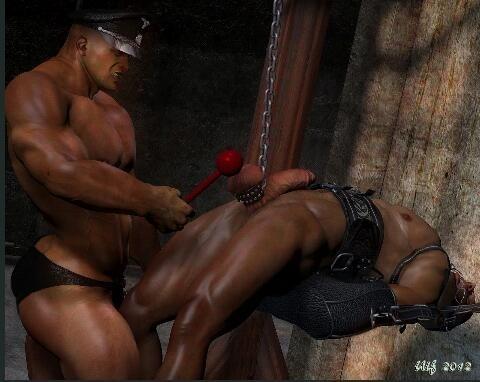 extreme ballbusting gay