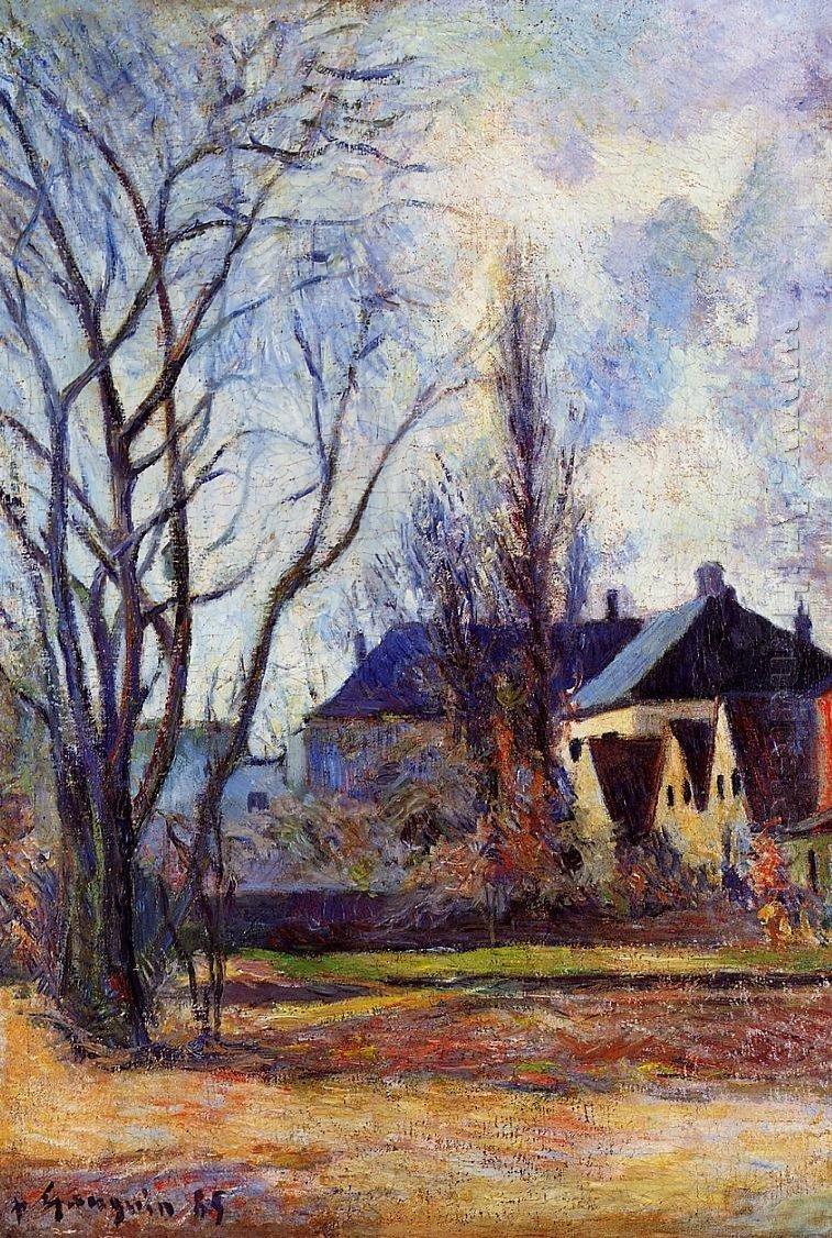 urgetocreate:Paul Gauguin, Winter's End, 1885