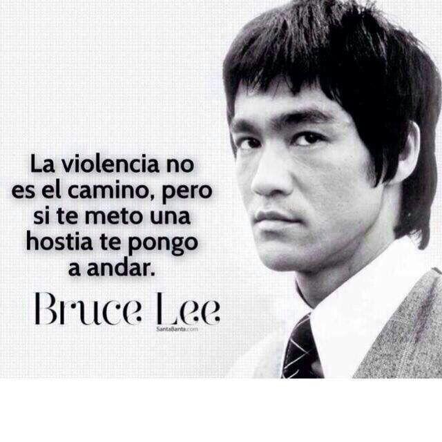 La violencia no es el camino