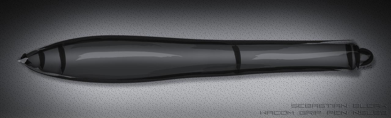 Wacom IntuosPro Grip Pen