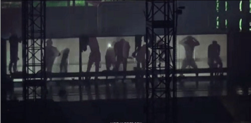 VIDEO of EXO Changing, & Throwing Their Clothes At Fans is Trending. I Wasn't Ready.[[MORE]]
