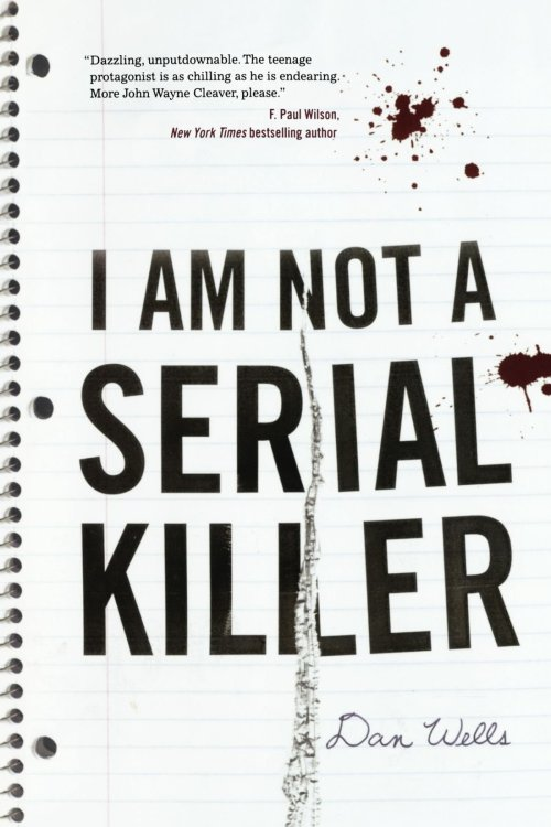 "I Am Not A Serial KillerBy Dan WellsReviewed by Miranda BoyerI've just finished reading the book I Am Not A Serial Killer by Dan Wells, whom I had the pleasure of<br /><br /><br /> meet and chatting with at Emerald City Comic Con this past March. I really did<br /><br /><br /> walk away with a slew of knew authors to read, and I've slowly been making my<br /><br /><br /> way through the list. This book starts a little slow, not to say that it isn't<br /><br /><br /> gripping, we get to see first hand what embalming a corpse is like after all,<br /><br /><br /> but the story itself needs the first hundred pages to really get moving. We<br /><br /><br /> meet the main character John Wayne Cleaver. He's a fifteen year old who is<br /><br /><br /> presently on the psychopathy trail of destruction. He does everything in his<br /><br /><br /> power to follow his own self-imposed rules in an attempt to be ""normal"".  But with a name like John Wayne, only a very<br /><br /><br /> well known serial killer, and the last name of a weapon how could John really<br /><br /><br /> have any actual chance at being normal. Or so he thinks.The story focuses on John in a sort of character analysis introspection. We<br /><br /><br /> read and watch John as both a typical teenage boy (although maybe he doesn't<br /><br /><br /> recognize that some of his thoughts are normal) and we get to openly see the<br /><br /><br /> mind of a psychopath (the not so normal parts). Until, that is a serial killer<br /><br /><br /> in his small town starts to slowly pick people off, one at a time. In order to<br /><br /><br /> find and destroy the killer, John must let down his own wall of rules. John<br /><br /><br /> must let the monster he's worked so hard at controlling, out of its box. What I love about this book is the ability to root for John,<br /><br /><br /> even when he really should disturb you.<br /><br /><br /> John is a fascinating protagonist that struggles with a lack of empathy,<br /><br /><br /> how to connect with people, and where his moral lines lay. Wells asks a hard<br /><br /><br /> question: What makes a monster? Is it the teenager who keeps his dark<br /><br /><br /> tendencies in check when even when he feels nothing watching someone die? Or is<br /><br /><br /> it the one who cries for his victims every time he mutilates one?<br /><br /><br /> I enjoyed this story. It takes some wild and unexpected twists and turns. If<br /><br /><br /> you're looking for something outside of your comfort zone, pick up I Am Not A Serial Killer today. Also, if you haven't heard, there making this into a movie! They finished filming recently and it is due out next year!"