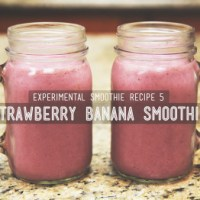 Day 5 Smoothie of the Day: Strawberry Banana Smoothie (DIY)
