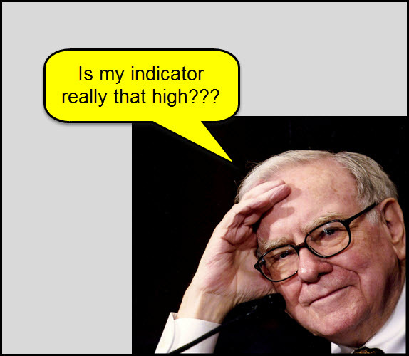 "Buffet Valuation Indicator Hitting Highest Level Since 2000</p><br /><br /><br /><br /><br /><br /><br /><br /><br /><br /><br /><br /><br /><br /><br /><br /><br /><br /><br /><br /><br /><br /> <p>Market Cap to GDP is a long-term valuation indicator that has become popular in recent years, thanks to Warren Buffett.<br /><br /><br /><br /><br /><br /><br /><br /><br /><br /><br /><br /><br /><br /><br /><br /><br /><br /><br /><br /><br /><br /><br /> The above chart was created by Doug Short, highlighting the current level of the Buffett indicator. As you can see its now hitting the highest reading since 2000 and the second highest in the past 60 years, surpassing the levels reached in 2007.</p><br /><br /><br /><br /><br /><br /><br /><br /><br /><br /><br /><br /><br /><br /><br /><br /><br /><br /><br /><br /><br /><br /> <p>The above 5-pack highlights several important U.S. Stock indices that all happen to be facing resistance lines dating back at least 15-years. (click to enlarge)<br /><br /><br /><br /><br /><br /><br /><br /><br /><br /><br /><br /><br /><br /><br /><br /><br /><br /><br /><br /><br /><br /><br /> This looks to be a unique and rare ""Technomental"" situation we have on our hands…I find this set up very interesting!!!<br /><br /><br /><br /><br /><br /><br /><br /><br /><br /><br /><br /><br /><br /><br /><br /><br /><br /><br /><br /><br /><br /><br /> See us at Kimble Charting Solutions"