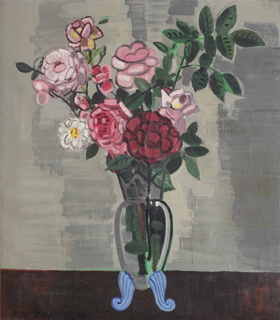 thunderstruck9:  Jean Brusselmans (Belgian, 1884-1953), Roses, 1948. Oil on canvas, 90 x 80 cm.