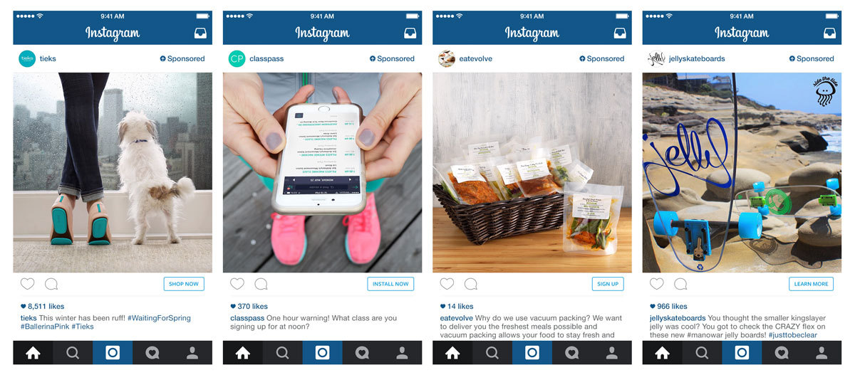 Instagram buy button will be called