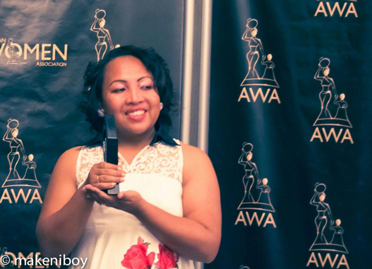 Young Entrepreneurial Spirit Award winner Nadia Rakotovaoarison