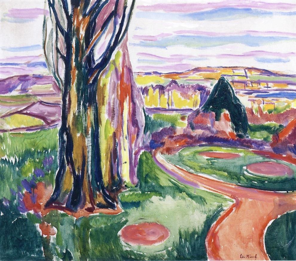 dappledwithshadow:From JeløyaEdvard Munch, 1913-1915