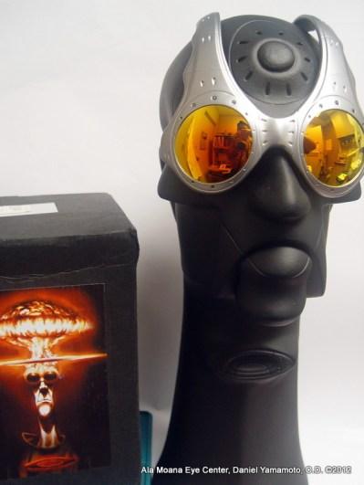 Oakley - Over the Top, sunglasses, at Ala Moana Eye Center, Honolulu, Hawaii
