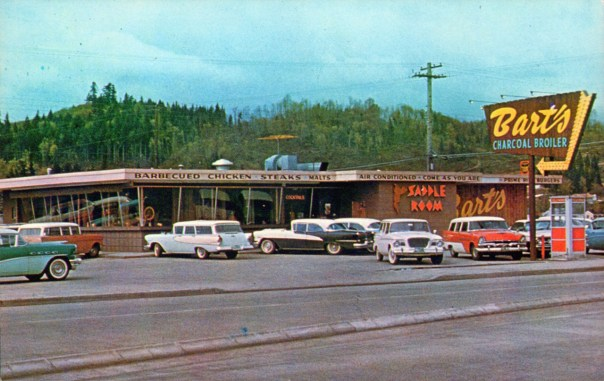 Bart's Charcoal Broiler - Longview, Washington U.S.A. - 1950s