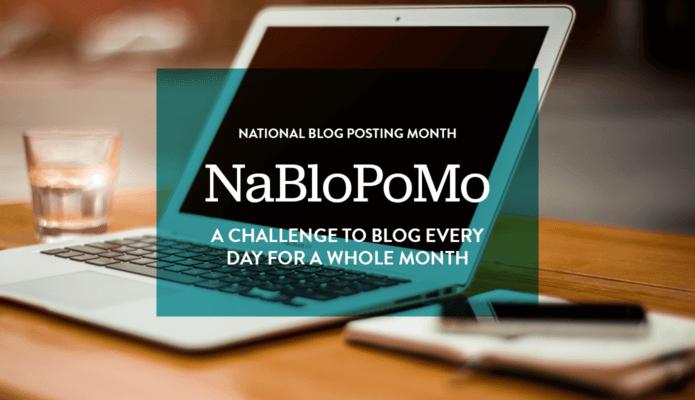 NaNoWriMo-slash-NaBloPoMo 2016