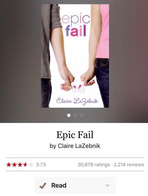 Rereading: Epic Fail