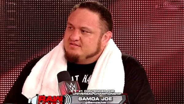 Update on Samoa Joe's WWE Return   411MANIA