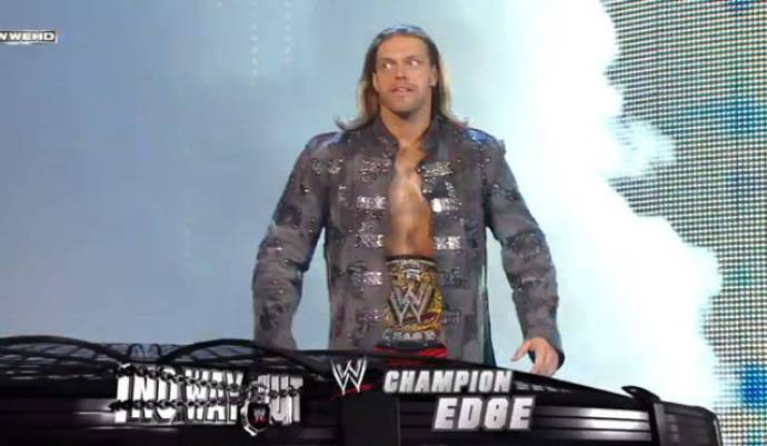 Image result for february 15th 2009 PPV edge championship