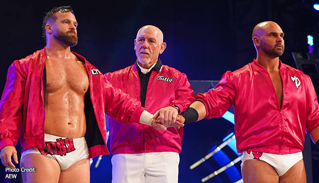 Tully Blanchard Returns To The Ring On AEW Dynamite: The Crossroads