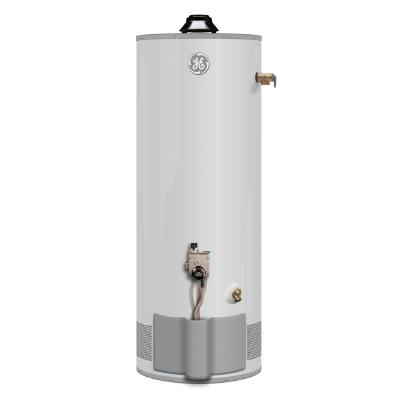 GE 40 Gallon FVIR Natural Gas Short Water Heater 6YR 36,000 BTU