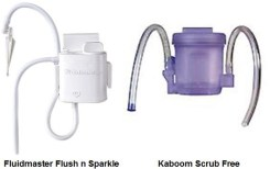 These products come in dispensers which bypass the tank and go directly to the bowl.