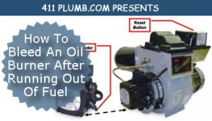 How To Bleed An Oil Burner After Running Out Of Fuel