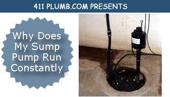 Why Does My Sump Pump Run Constantly?