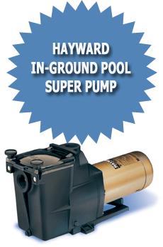 Hayward In Ground Pool Super Pump