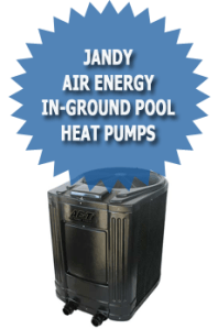 Jandy Air Energy In-Ground Pool Heat Pumps