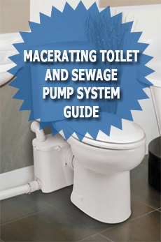 Macerating Toilet And Sewage Pump System Guide