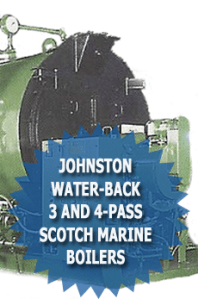 Johnston Water-Back 3 And 4-Pass Scotch Marine Boilers