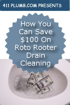 How You Can Save 100 On Roto Rooter Drain Cleaning
